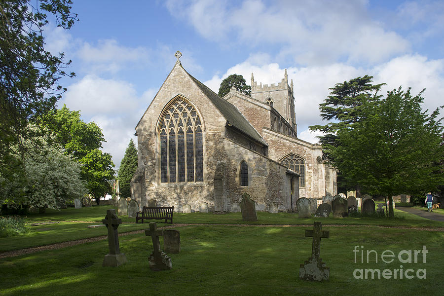 St Mary Magdalene Church Brampton Cambridgeshire England Photograph  - St Mary Magdalene Church Brampton Cambridgeshire England Fine Art Print