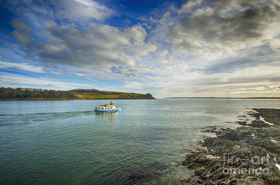 St Mawes Ferry Duchess Of Cornwall Photograph