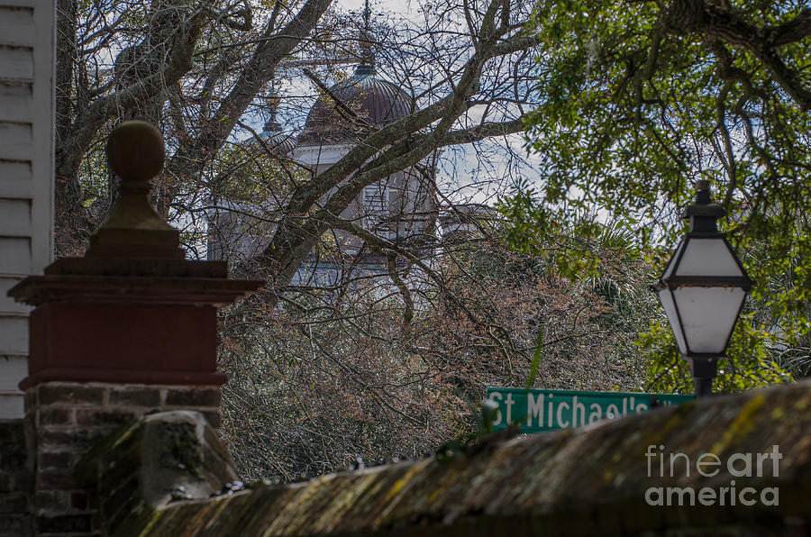 St. Michaels Alley In Charleston Photograph