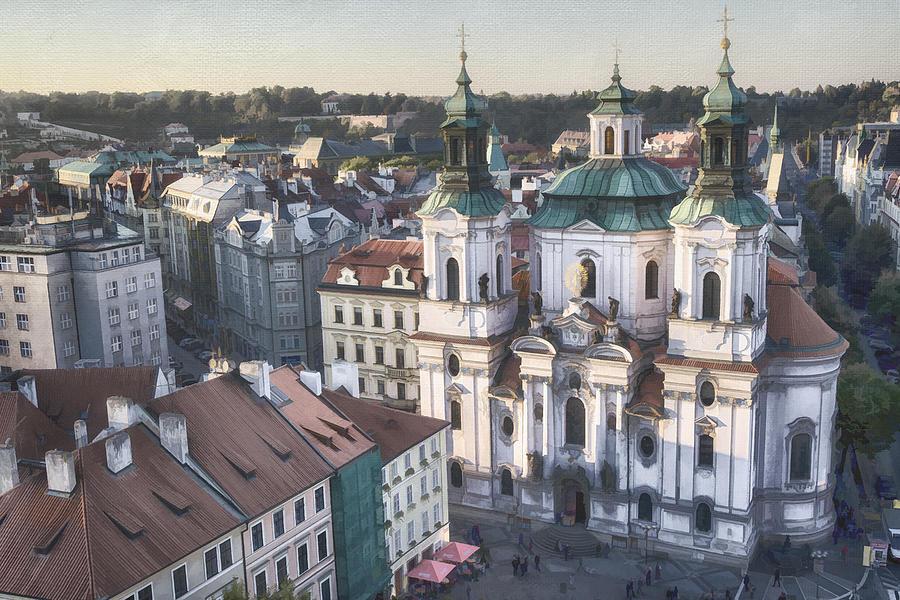 St Nicholas Prague Photograph