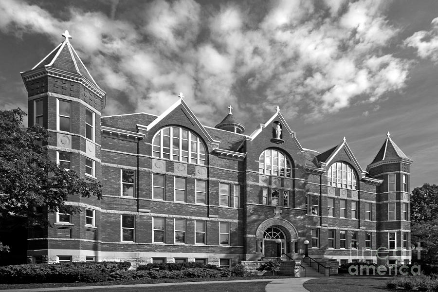 St. Norbert College Main Hall Photograph  - St. Norbert College Main Hall Fine Art Print