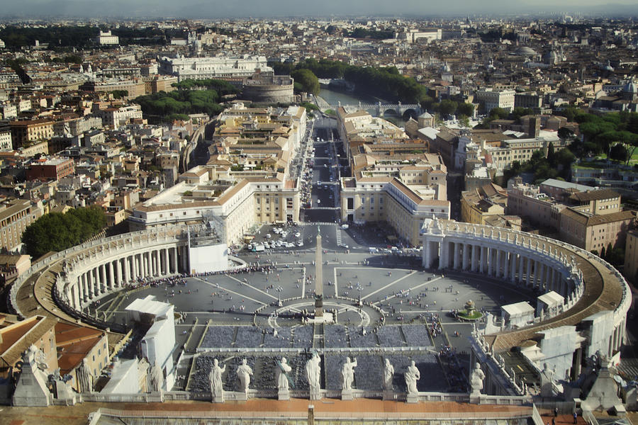 St Peters Square Photograph  - St Peters Square Fine Art Print