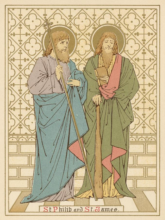 St Philip And St James Painting  - St Philip And St James Fine Art Print