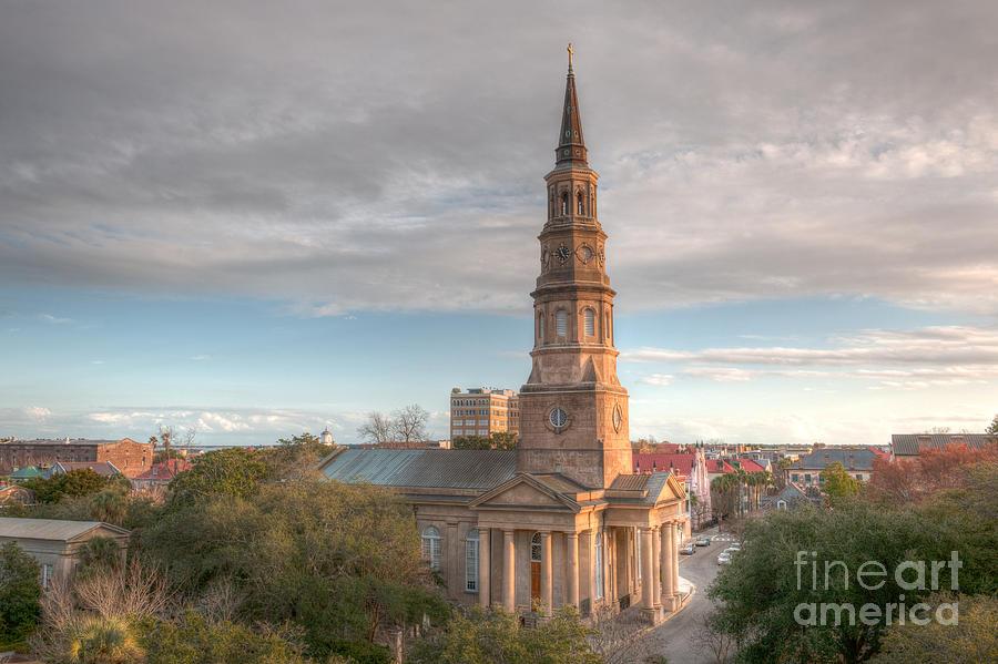 St. Philips Church In Charleston South Carolina. Photograph