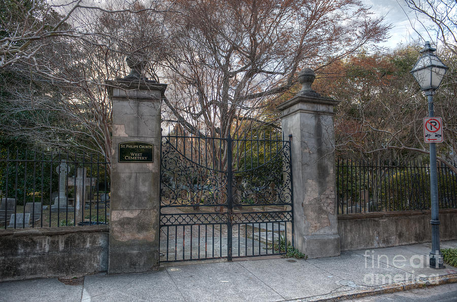 St. Philips Church West Cemetery Photograph