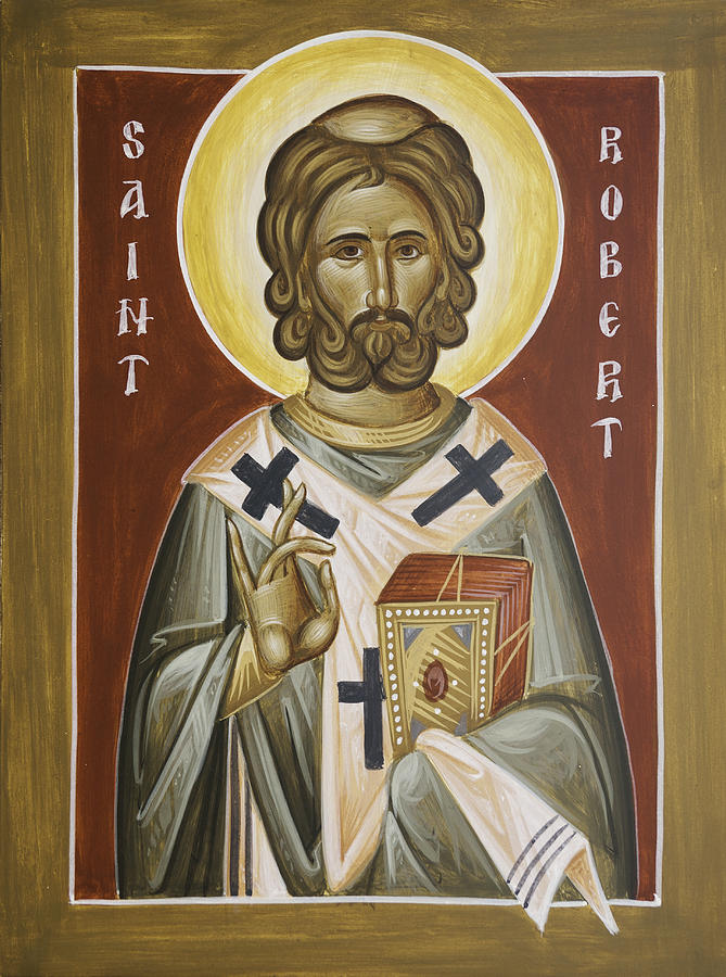 St Robert Painting