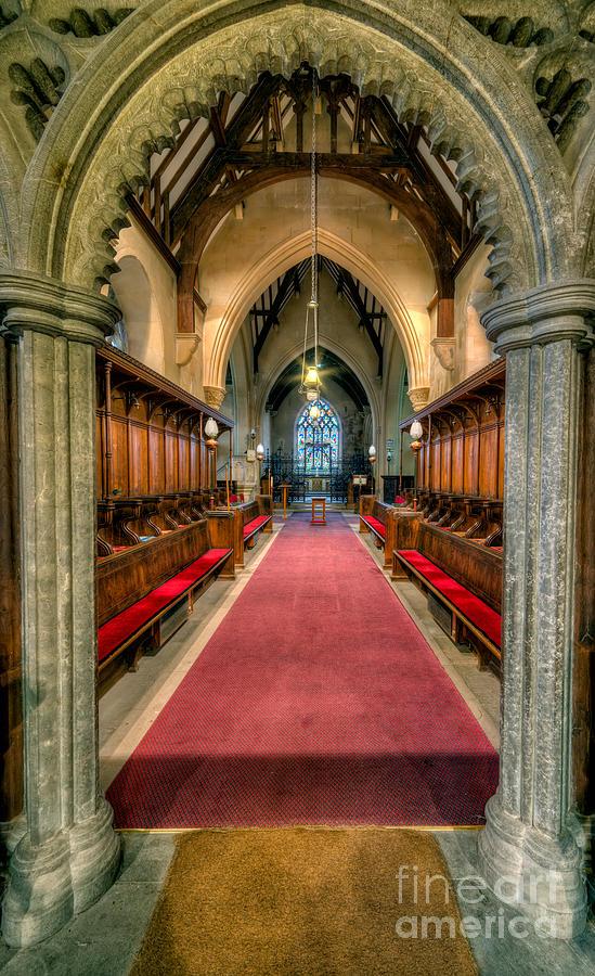 British Photograph - St Twrog Church by Adrian Evans