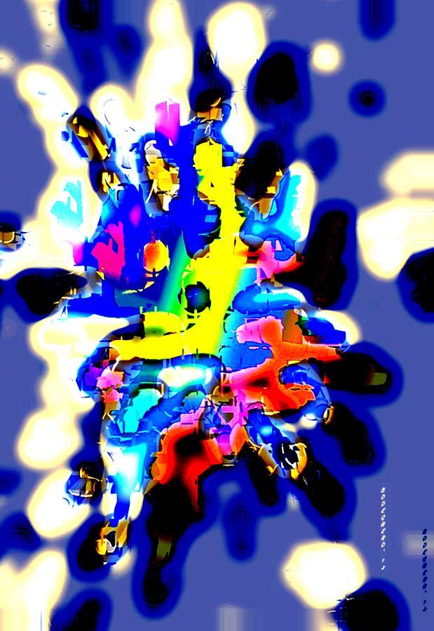 Stain Forward Digital Art