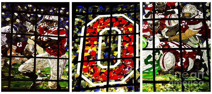 Stained Glass At The Horseshoe Photograph  - Stained Glass At The Horseshoe Fine Art Print
