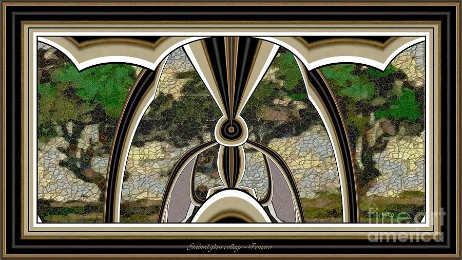 Stained Glass Collage Sgc2 Painting