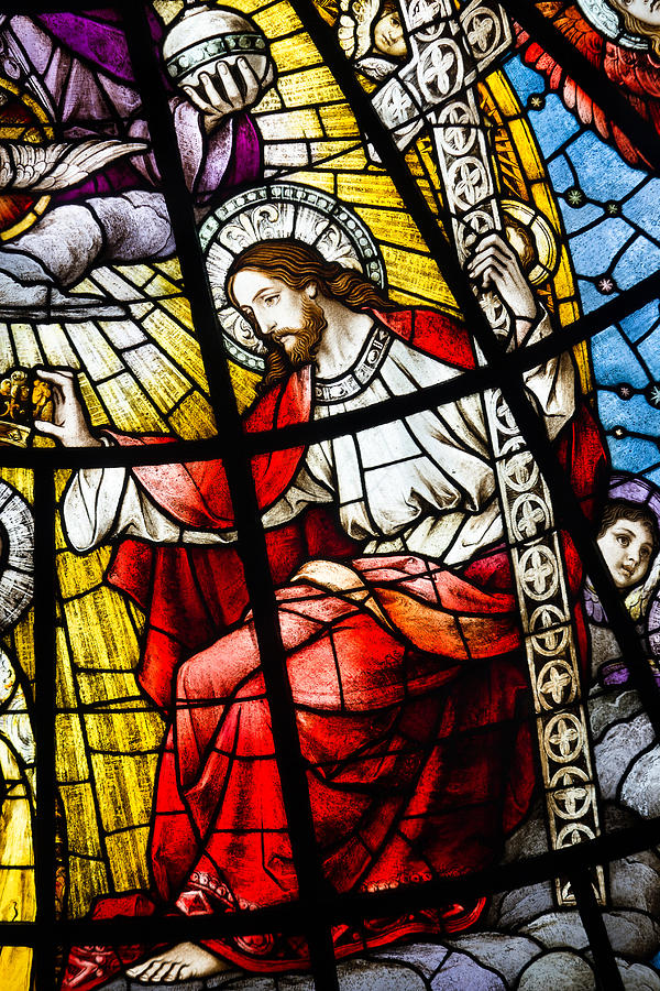 Stained Glass Jesus Photograph