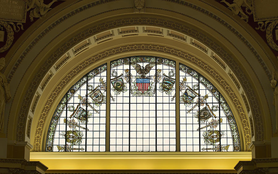 Stained Glass - Library Of Congress Photograph