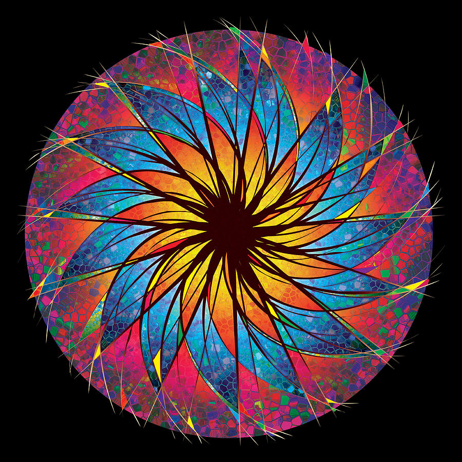 Stained Glass Digital Art