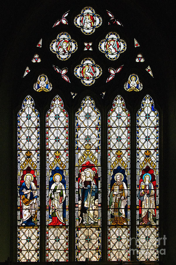 Stained-glass Window 1 Photograph