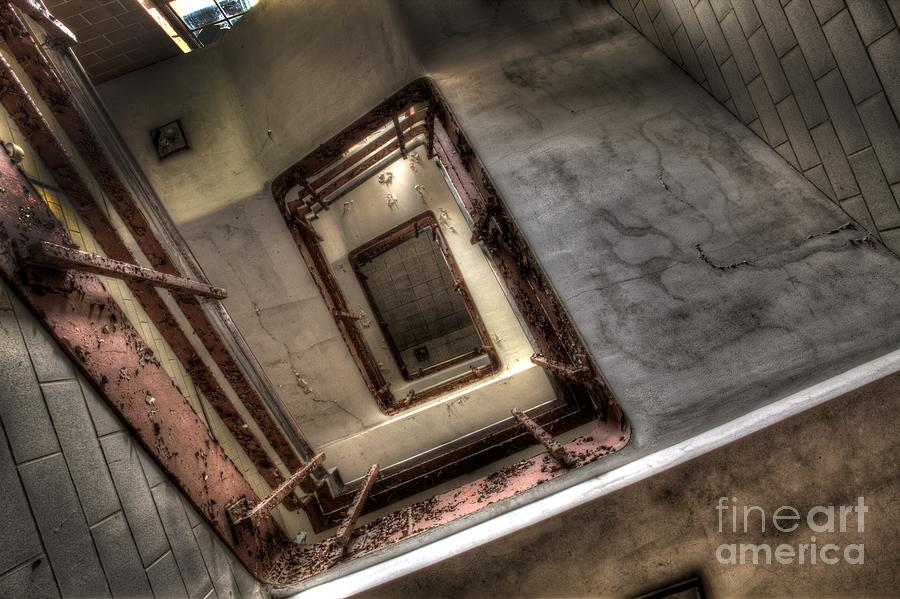 Abandoned Photograph - Stairway To Heaven by Amanda Stevens