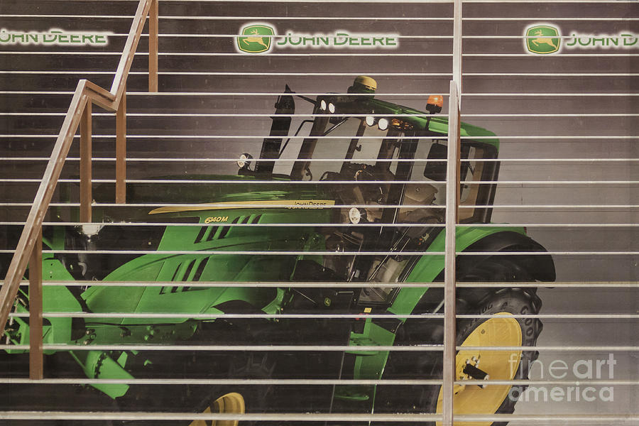 Stairway To John Deere Heaven Photograph