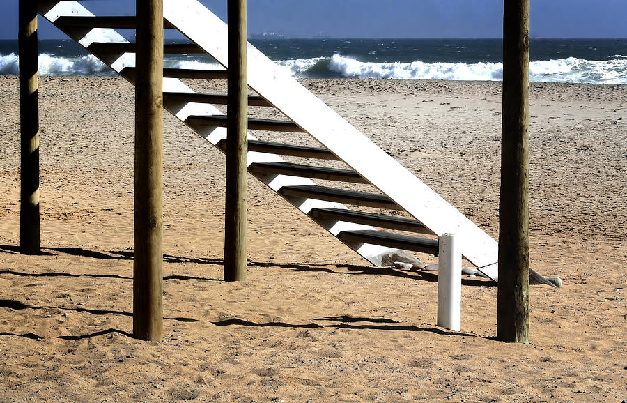 Stairway To Summer  Photograph  - Stairway To Summer  Fine Art Print
