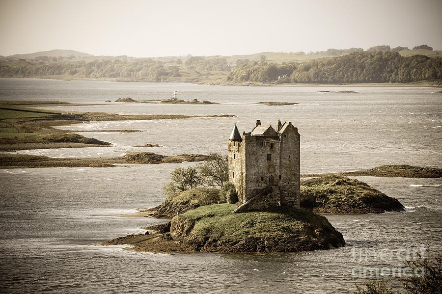 Stalker Castle Vintage Photograph