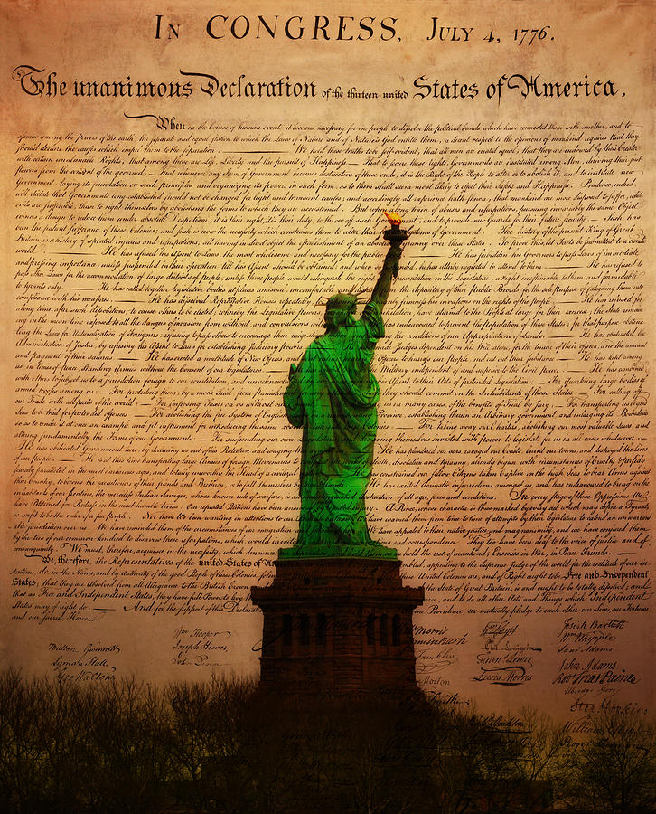 Stand Up For Freedom Photograph  - Stand Up For Freedom Fine Art Print