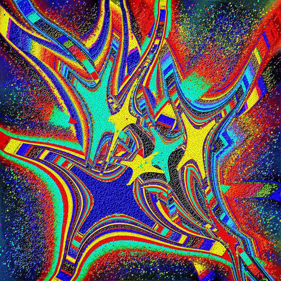 Star Cluster Digital Art