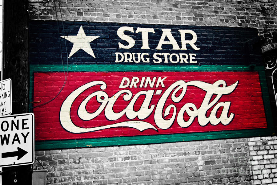 Star Drug Store Wall Sign Photograph
