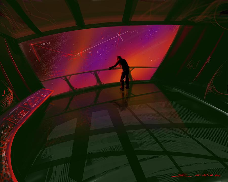 Star Gazer Painting