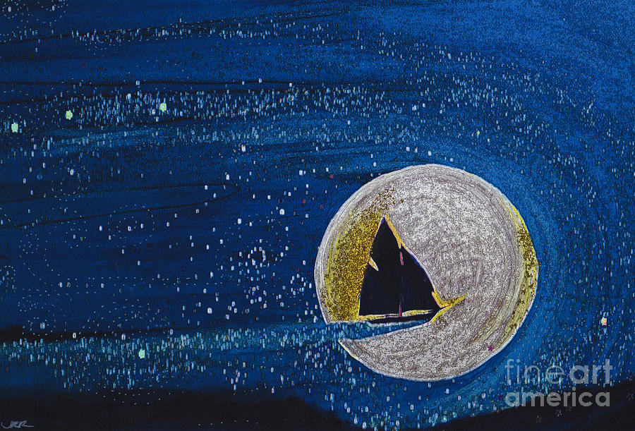 Star Sailing By Jrr Painting  - Star Sailing By Jrr Fine Art Print