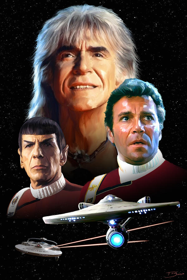 Star Trek II - The Wrath Of Khan Painting