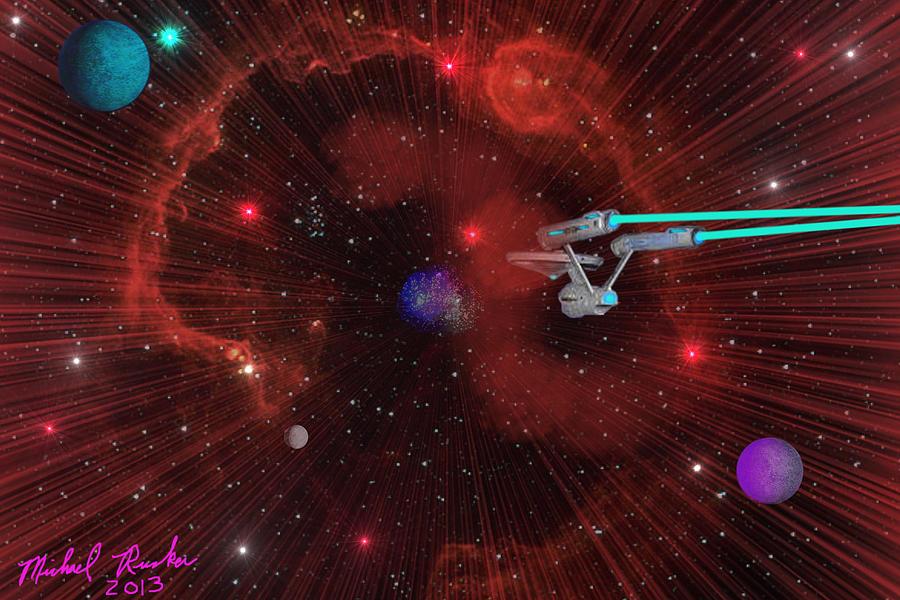 Star Trek - Punch It  Digital Art