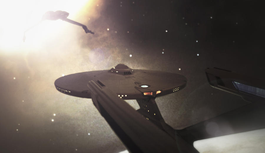Star Trek Photograph - Star Trek Standoff by Jason Politte