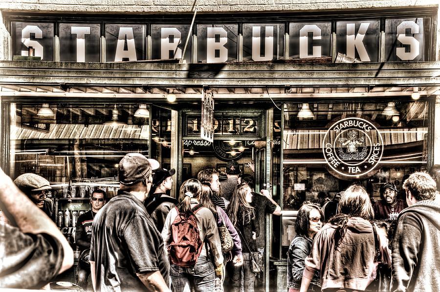 Starbucks 1971 Photograph By Spencer Mcdonald
