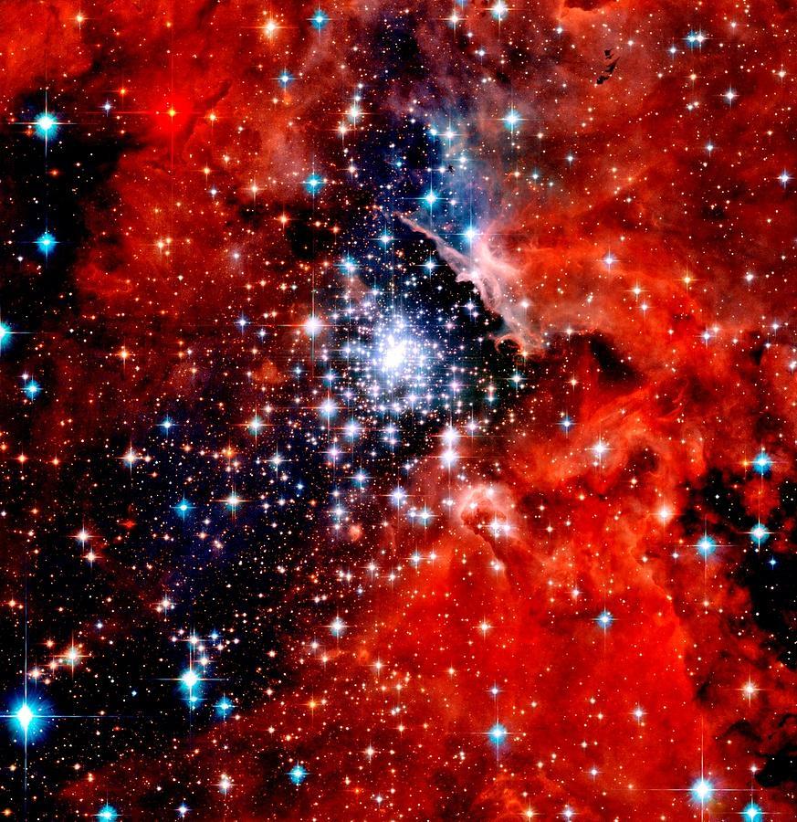 Starburst Cluster Photograph