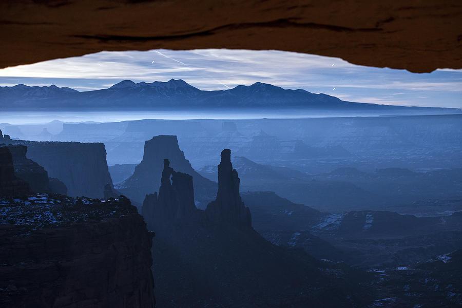 Starlit Mesa  Photograph