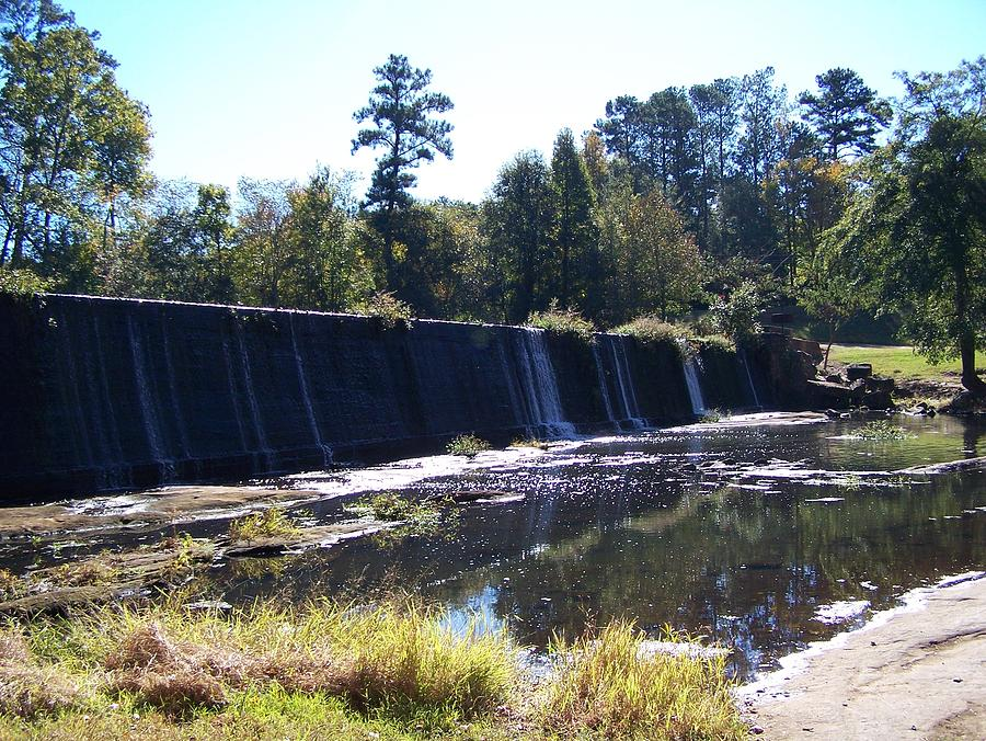 Starrs Mill Waterfall  Photograph