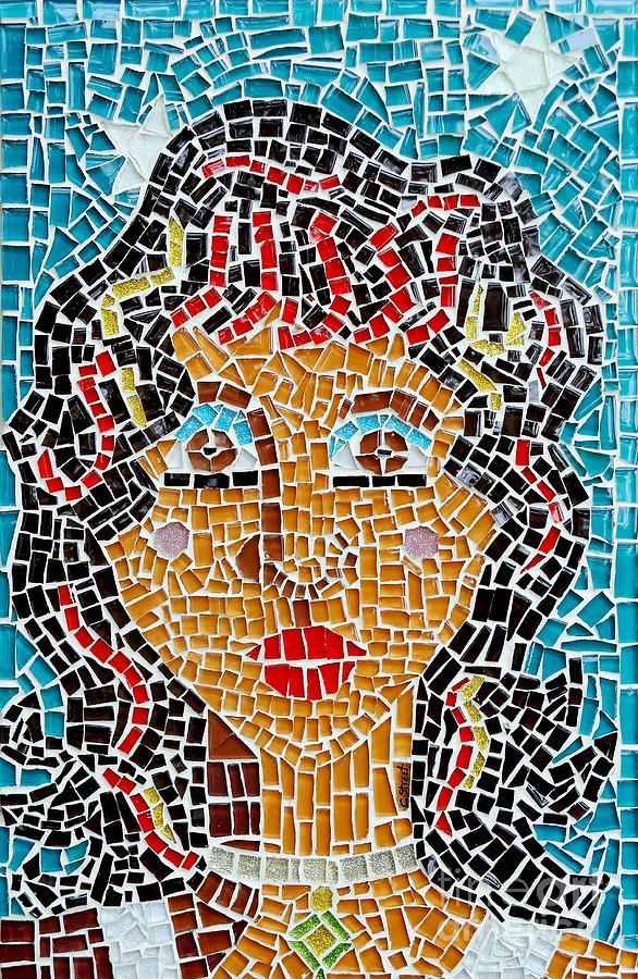 Starry Eyed Glass Art