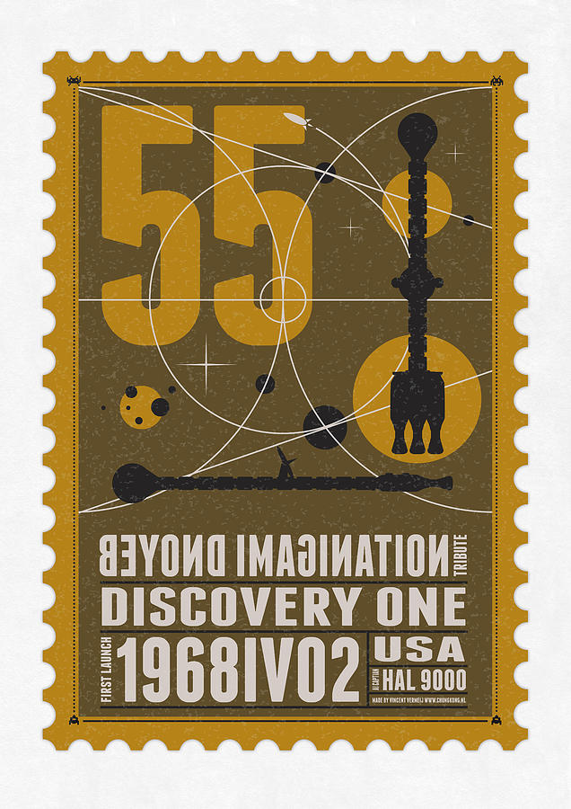 Starschips 55-poststamp -discovery One Digital Art