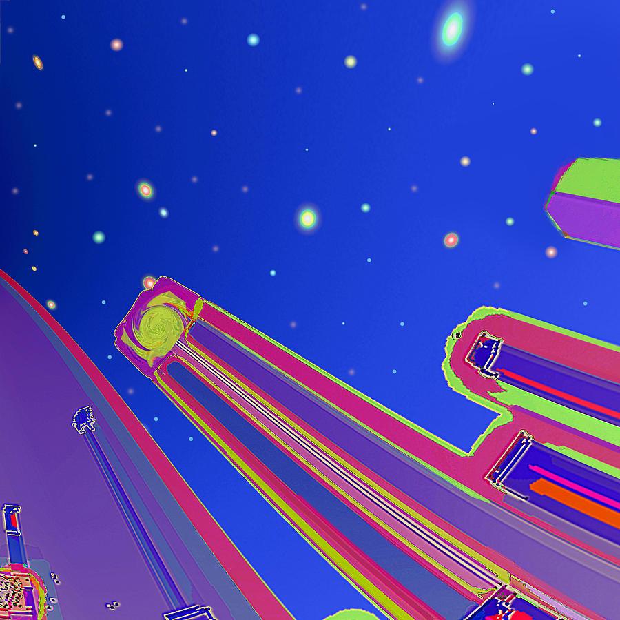Starscrapers Digital Art