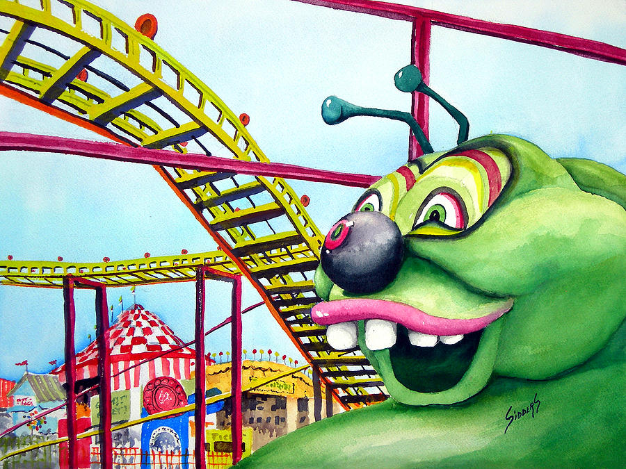 State Fair Caterpillar Painting