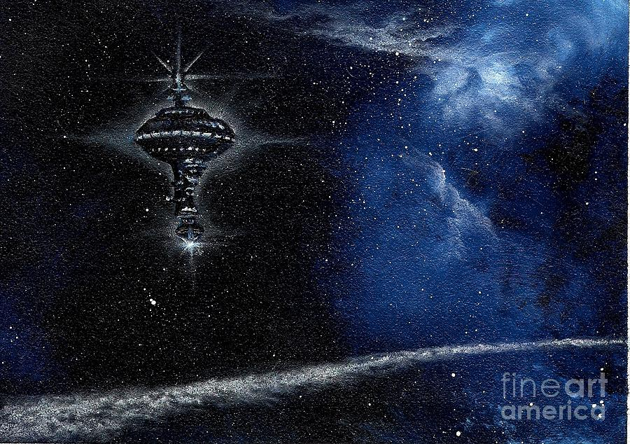 Station In The Stars Painting