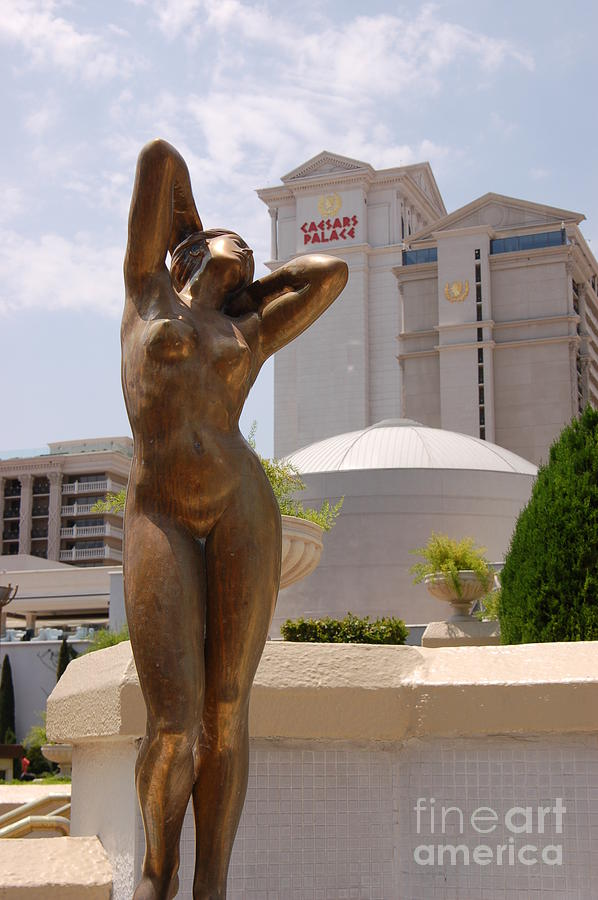 Statue At Caesars Palace Photograph  - Statue At Caesars Palace Fine Art Print
