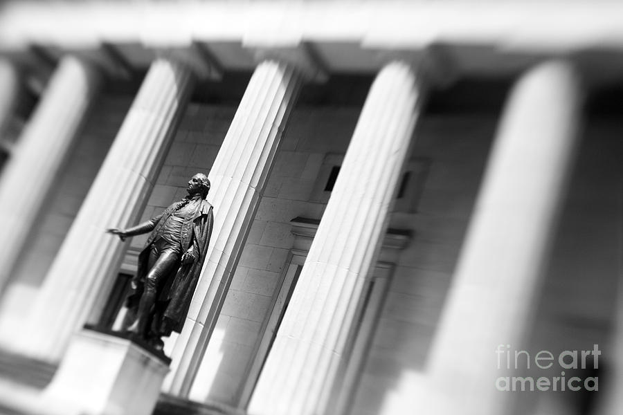 Statue Of George Washington Photograph  - Statue Of George Washington Fine Art Print