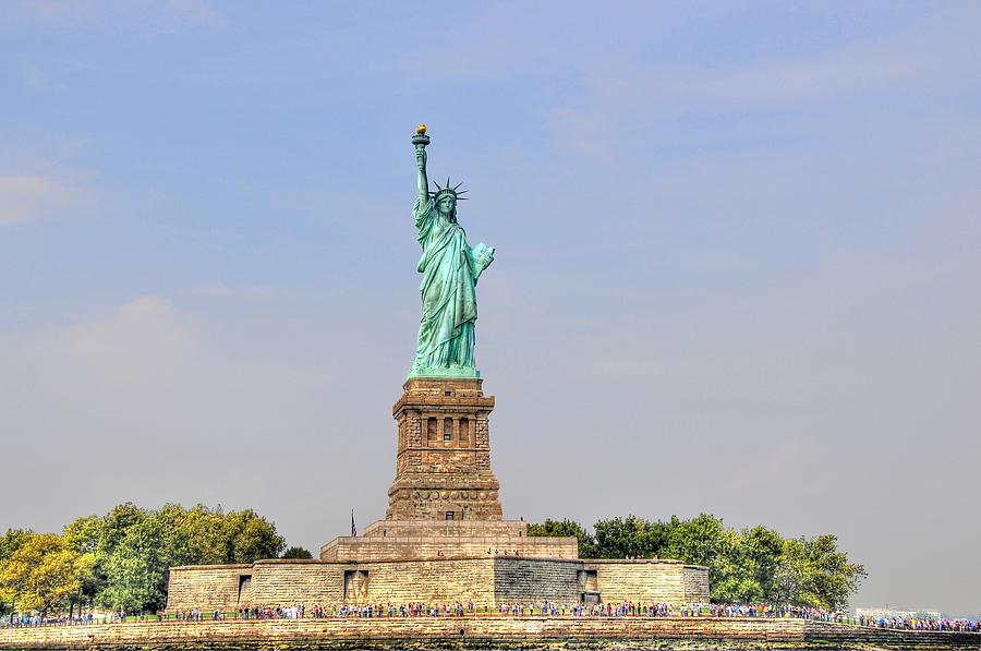 Statue Of Liberty Macro View Photograph