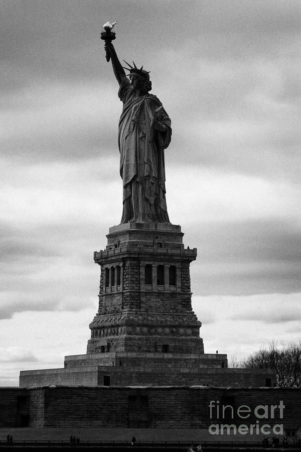 Statue Of Liberty National Monument Liberty Island New York City Photograph