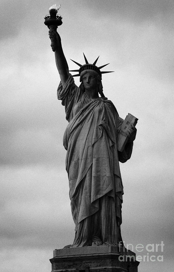 Statue Of Liberty National Monument Liberty Island New York City Nyc Usa Photograph