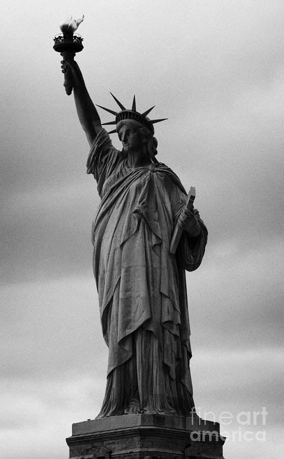 Statue Of Liberty New York City Usa Photograph  - Statue Of Liberty New York City Usa Fine Art Print