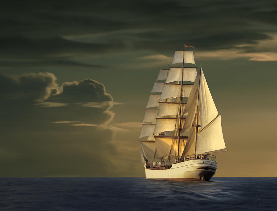 Steadfast Voyage Painting
