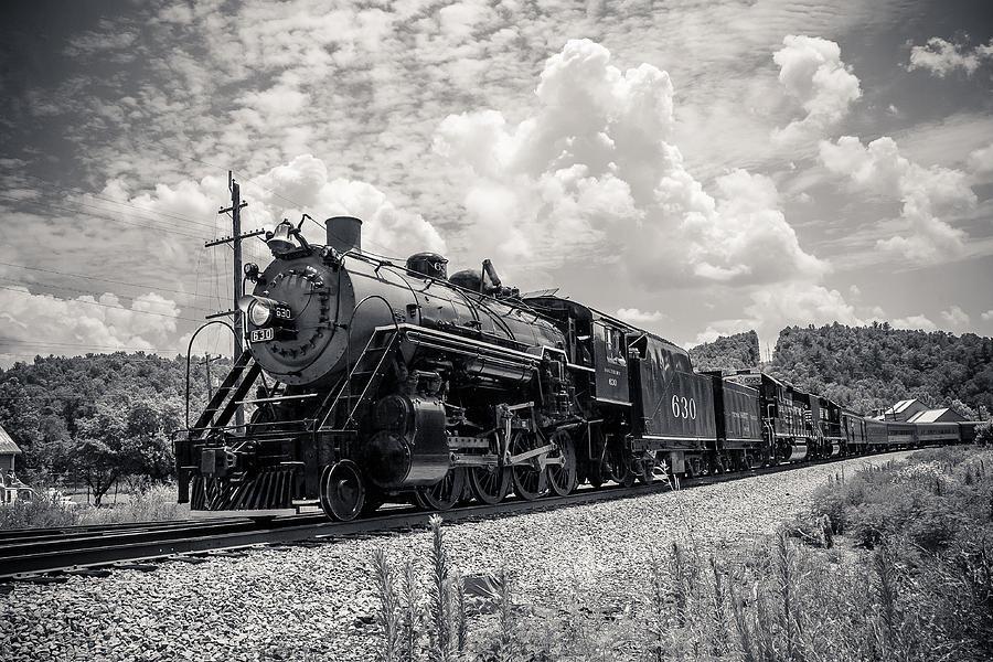 Train Photograph - Steam Engine by Darrin Doss