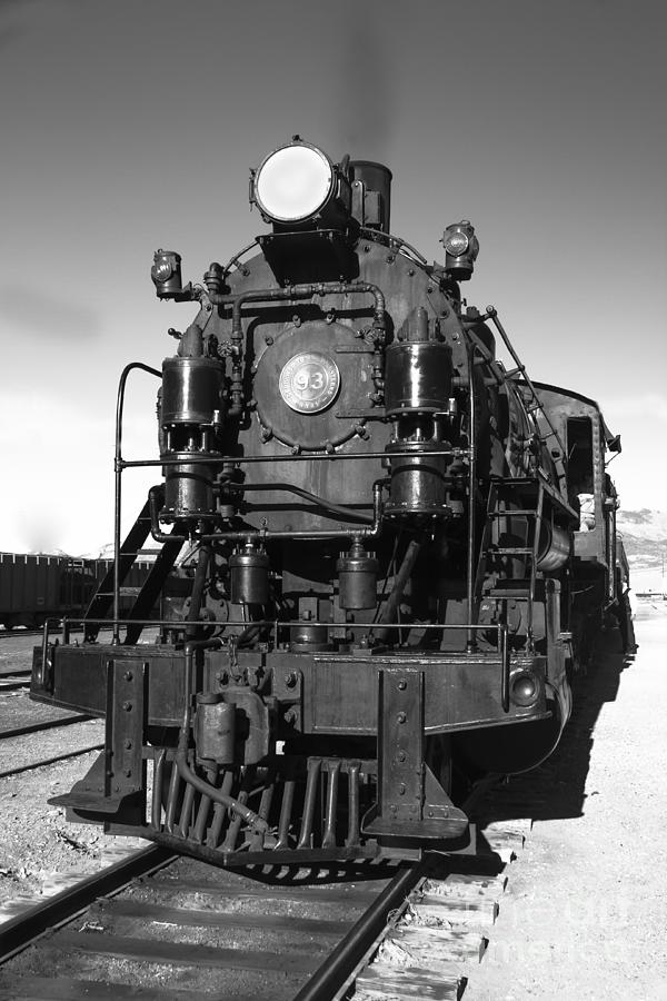 Train Photograph - Steam Engine by Robert Bales