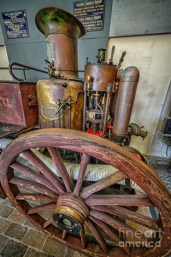 Steam Fire Engine Photograph