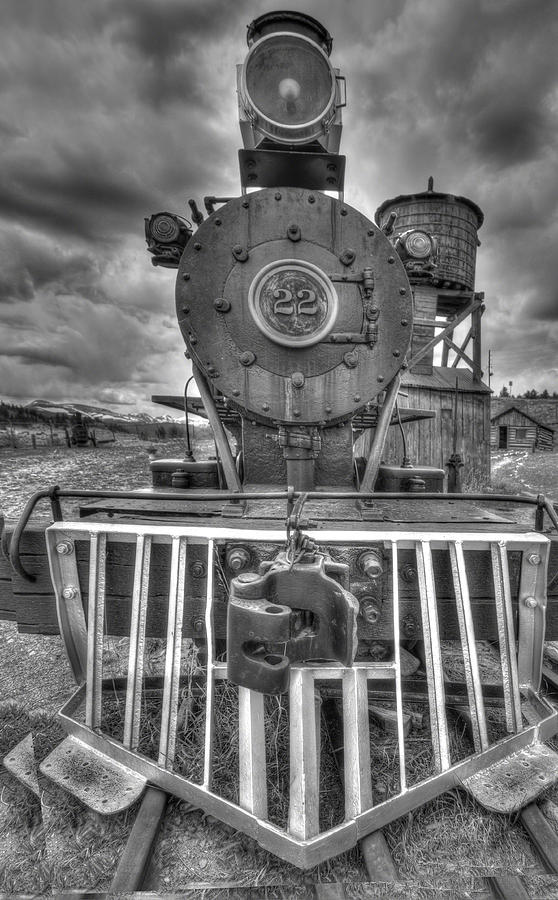 Old Train Photograph - Steam Locomotive Train by Al Reiner